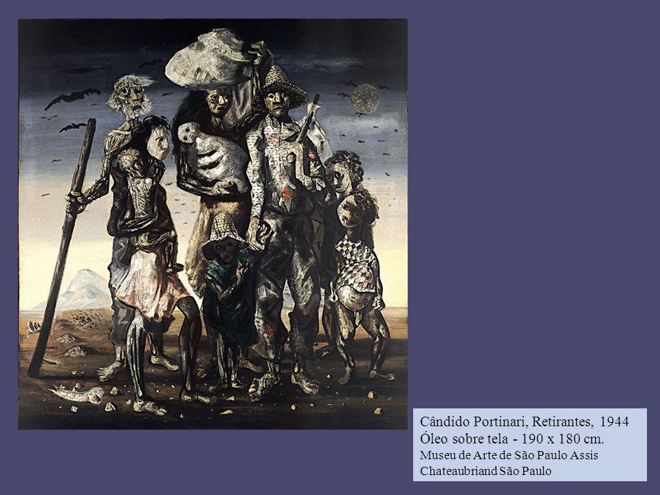 Cândido Portinari, Retirantes, 1944 Óleo sobre tela - 190 x 180 cm. Museu de Arte de São Paulo Assis Chateaubriand São Paulo