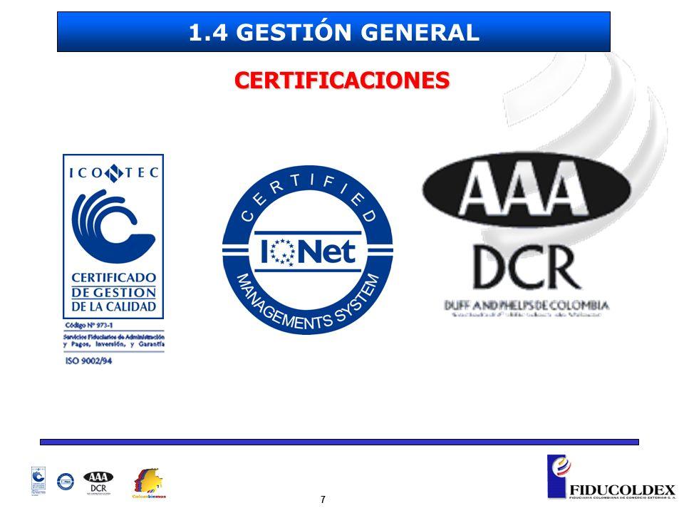 28 DEBERES DE FIDUCOLDEX Liquidar el contrato cuando éste termine y transferir los bienes remanentes a la Nación en su calidad de beneficiario.