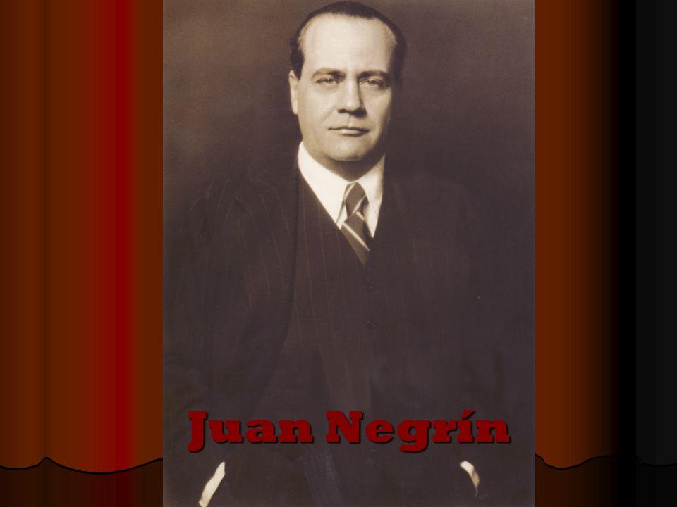 Juan Negrín nació en Las Palmas de Gran Canaria el 3 de febrero de 1889-y falleció Juan Negrín nació en Las Palmas de Gran Canaria el 3 de febrero de 1889-y falleció en París el 12 de noviembre de 1956.
