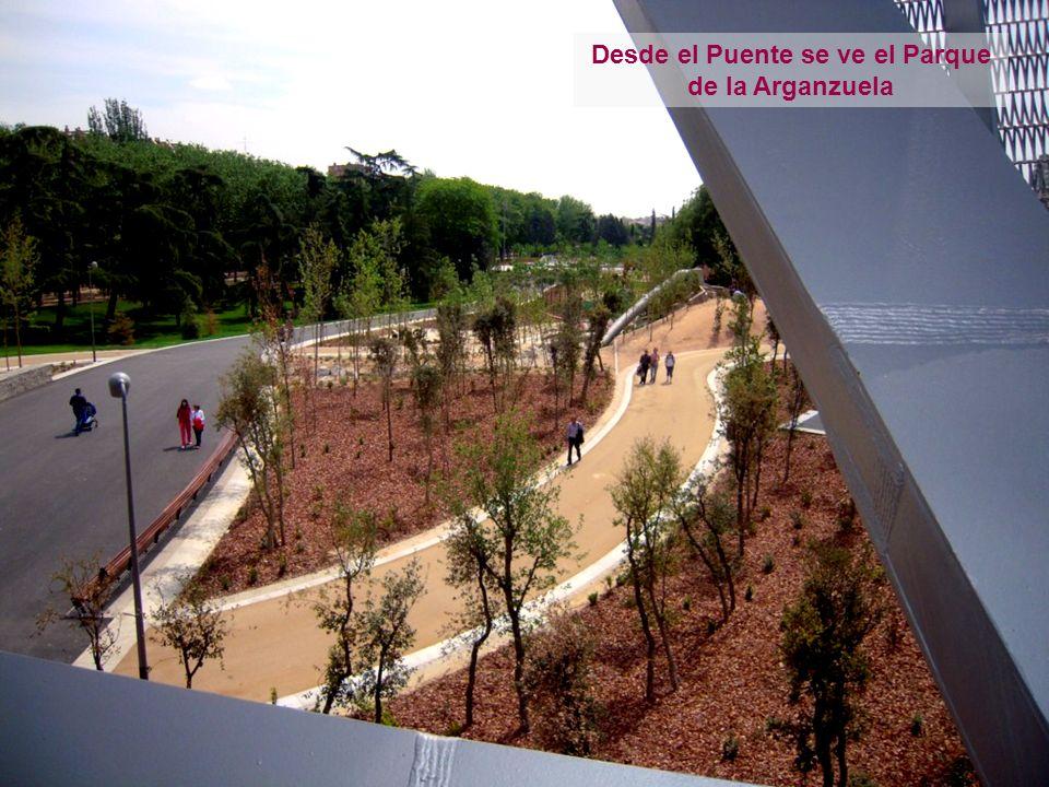 Desde el Puente se ve el Parque de la Arganzuela