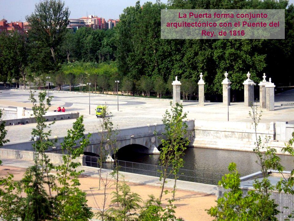 El Puente está formado por dos partes separadas