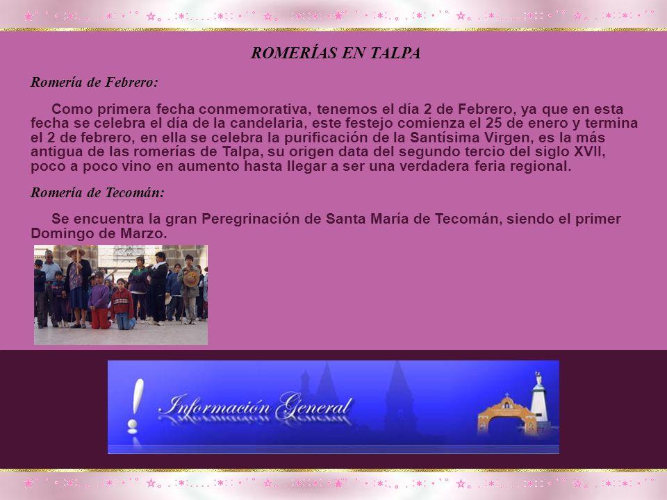 Por manda, por tradición o por curiosidad, miles de ciudadanos año con año van a Talpa de Allende, al Santuario de la Virgen del Rosario, la cual se l