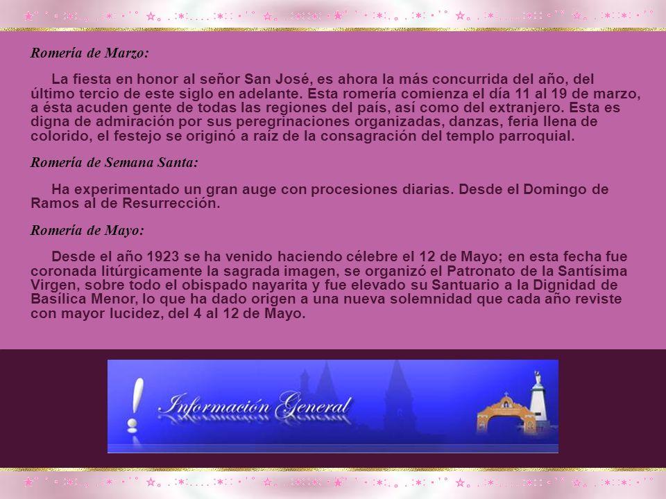 ROMERÍAS EN TALPA Romería de Febrero: Como primera fecha conmemorativa, tenemos el día 2 de Febrero, ya que en esta fecha se celebra el día de la cand