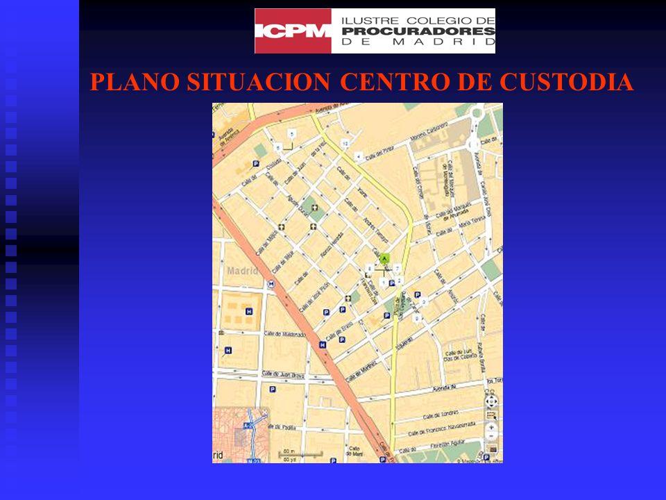 PLANO SITUACION CENTRO DE CUSTODIA