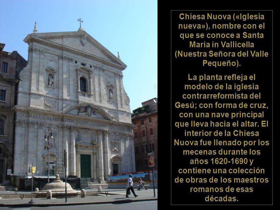 Iglesia Nuova y Oratorio dei Filippini