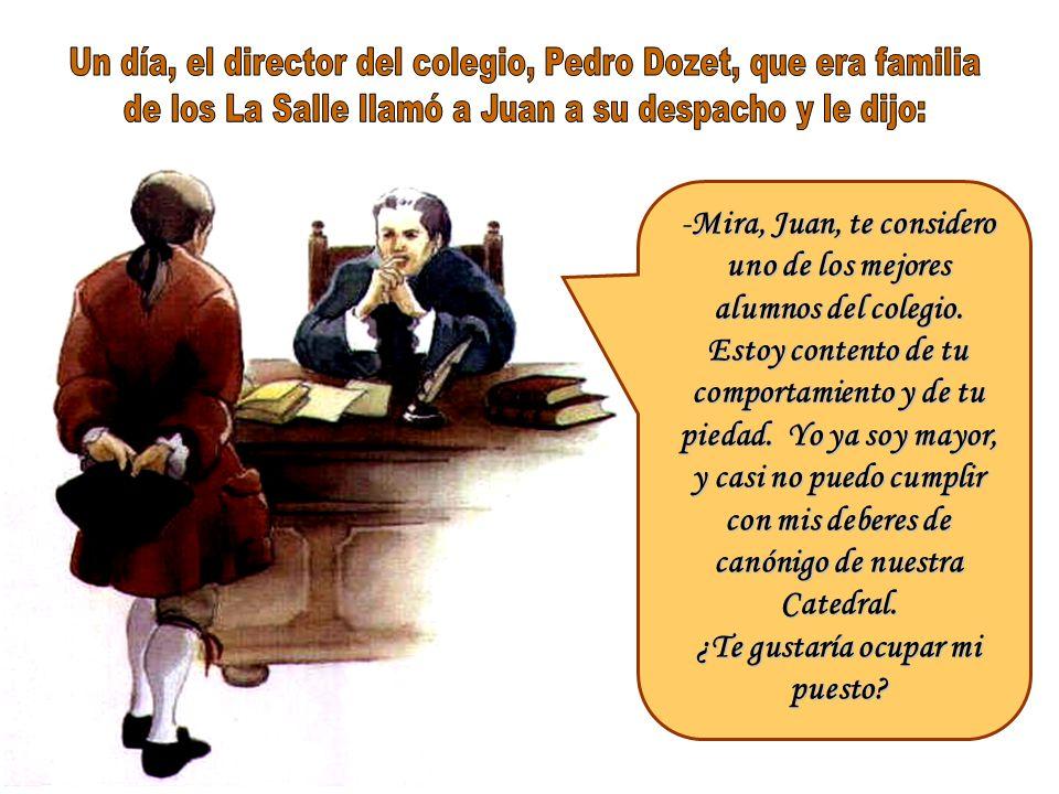 Los días que no había colegio, Juan Bautista acompañaba a su abuelo y padrino Juan Noët a los viñedos de éste, al lagar y sus bodegas. ¡Cómo le hubier