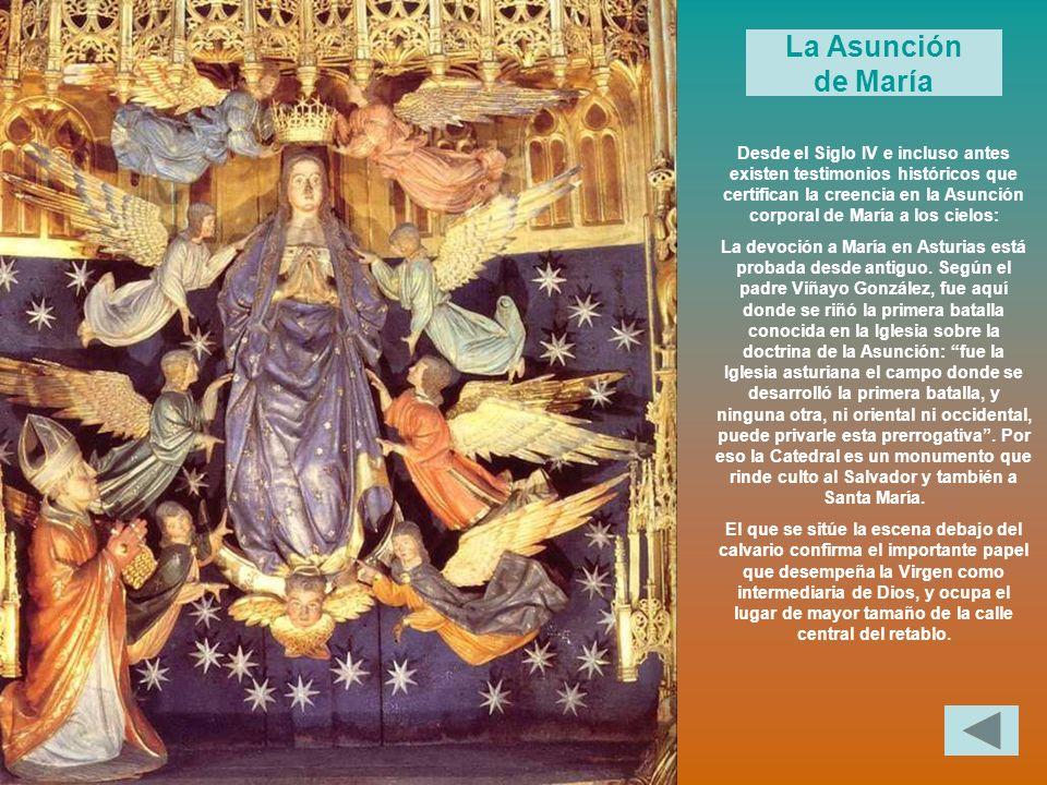 Desde el Siglo IV e incluso antes existen testimonios históricos que certifican la creencia en la Asunción corporal de María a los cielos: La devoción