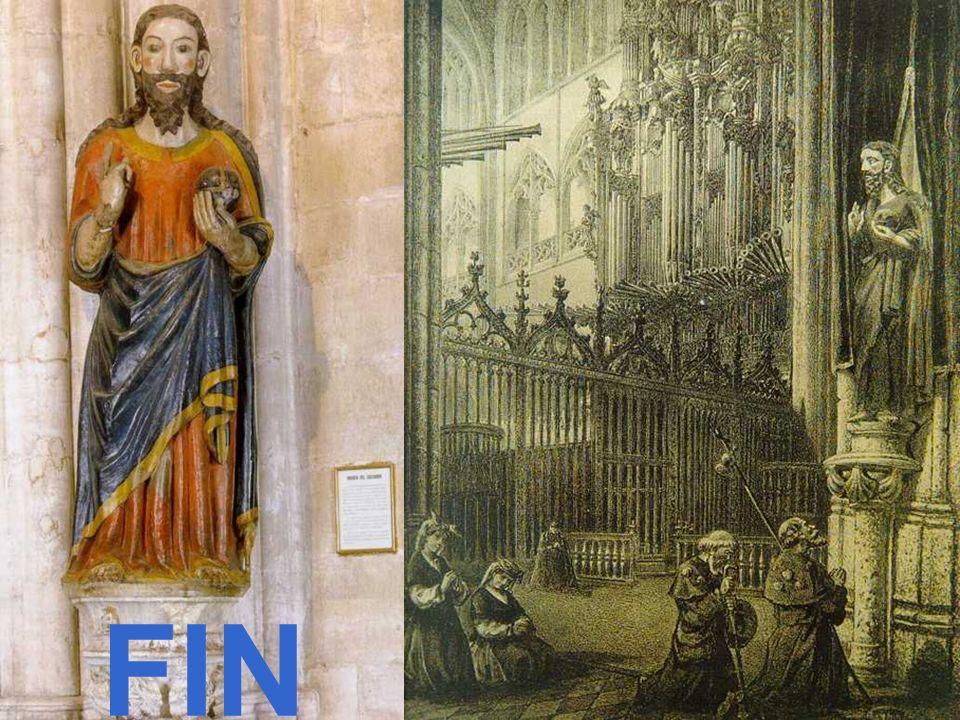 Quien visita Santiago y no al Salvador, visita al criado y deja al Señor Dicho medieval francés FIN