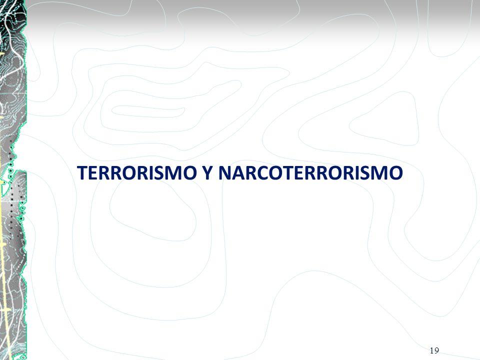 TERRORISMO Y NARCOTERRORISMO 19