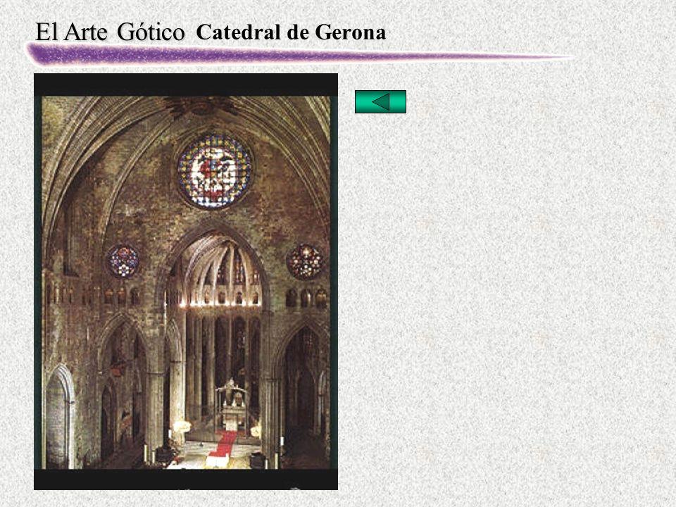 El Arte Gótico Catedral de Gerona