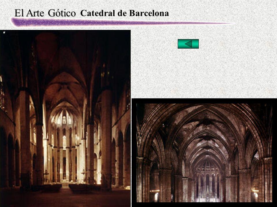 El Arte Gótico Catedral de Barcelona