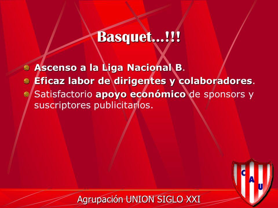 Basquet...!!. Ascenso a la Liga Nacional B Ascenso a la Liga Nacional B.