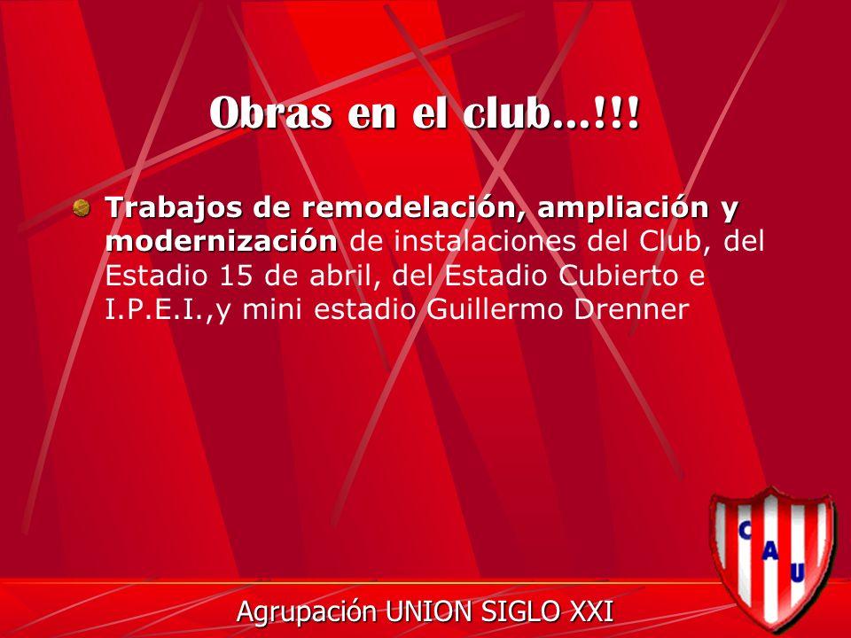 Obras en el club...!!.