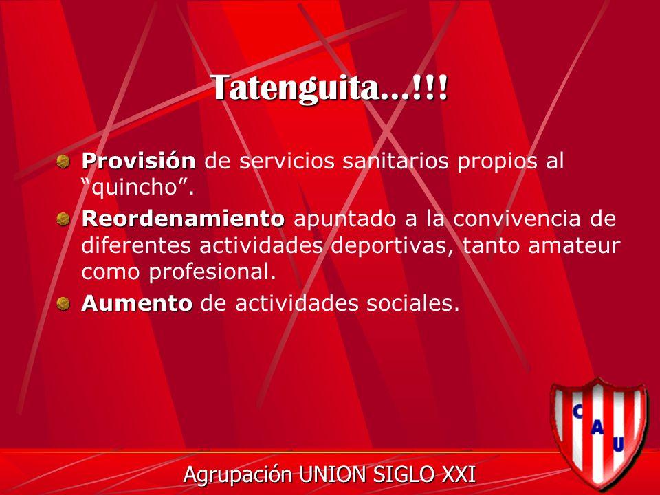 Tatenguita...!!. Provisión Provisión de servicios sanitarios propios al quincho.