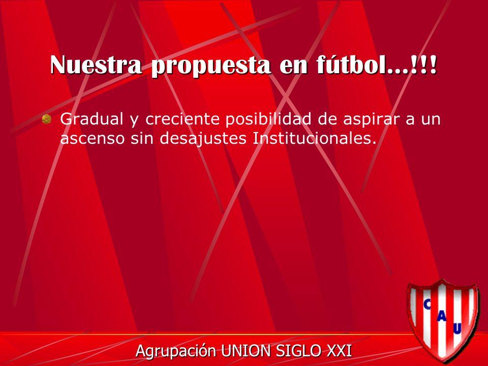 Nuestra propuesta en fútbol...!!.