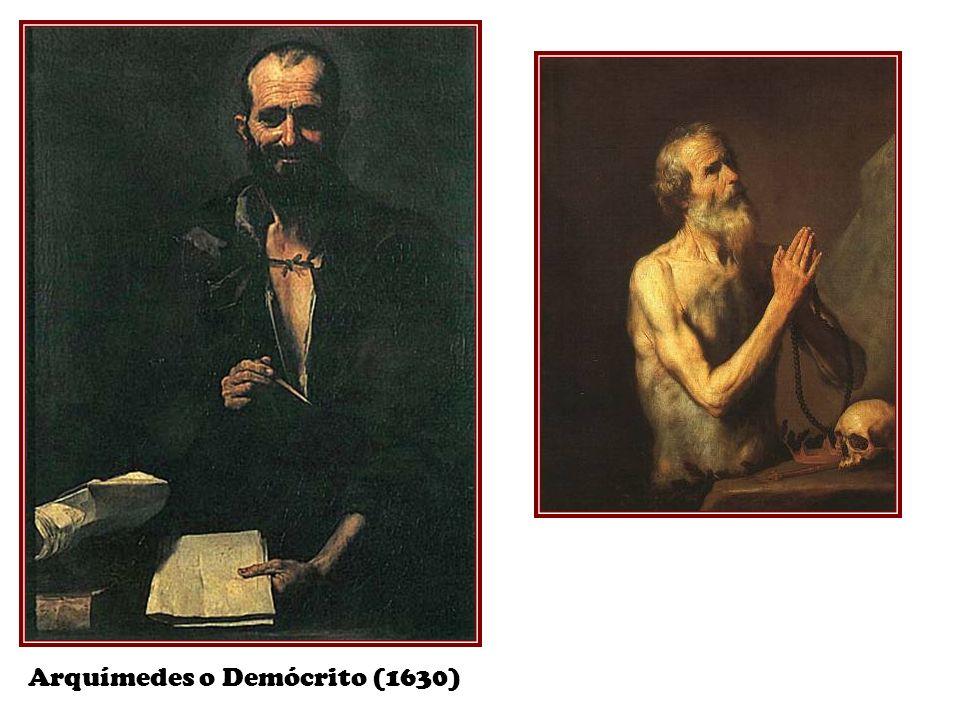 Arquímedes o Demócrito (1630)