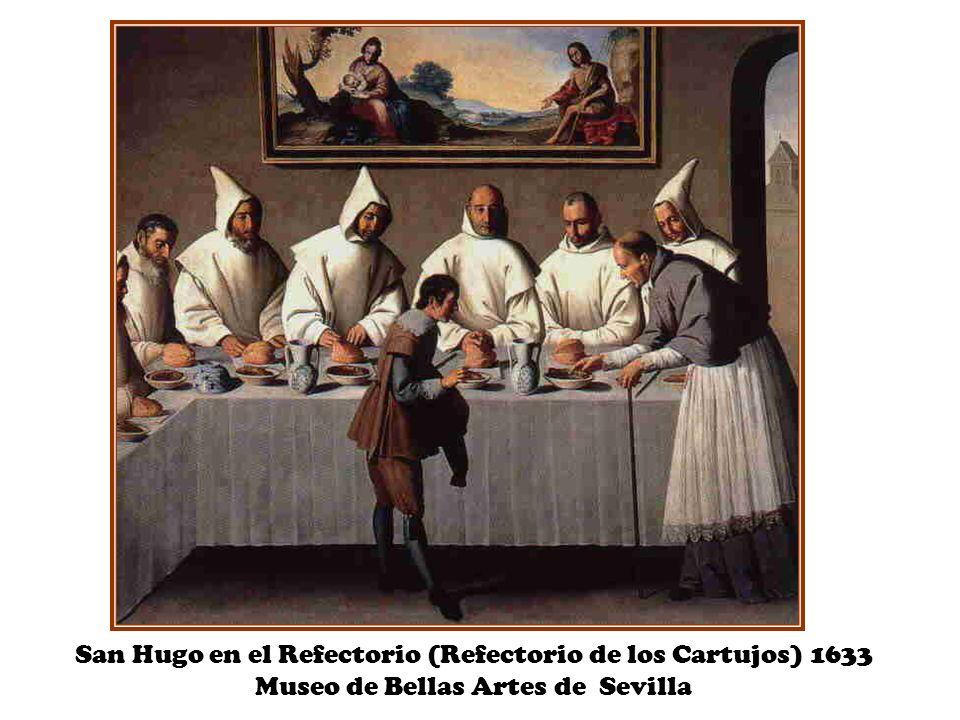 San Hugo en el Refectorio (Refectorio de los Cartujos) 1633 Museo de Bellas Artes de Sevilla