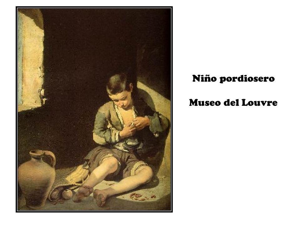 Niño pordiosero Museo del Louvre