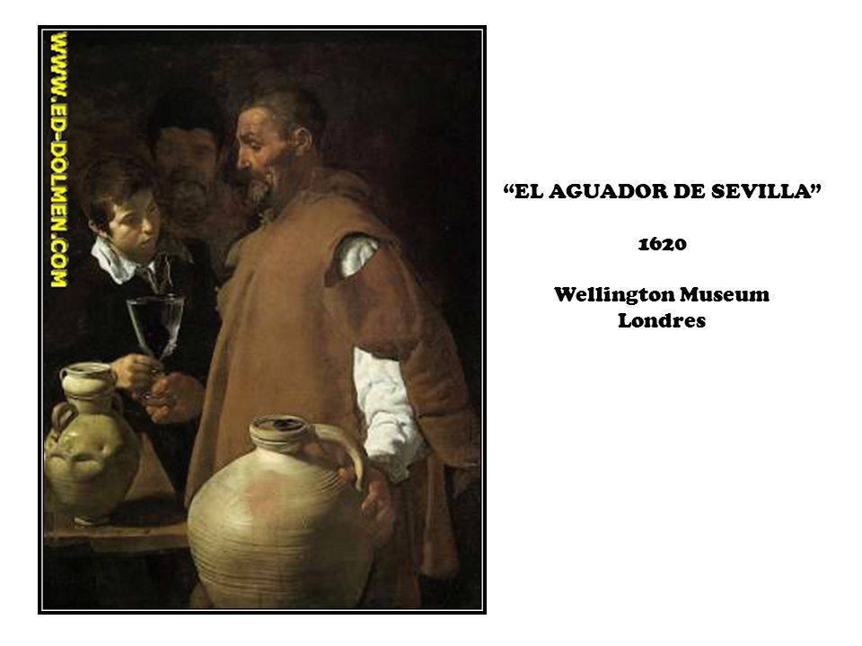 EL AGUADOR DE SEVILLA 1620 Wellington Museum Londres