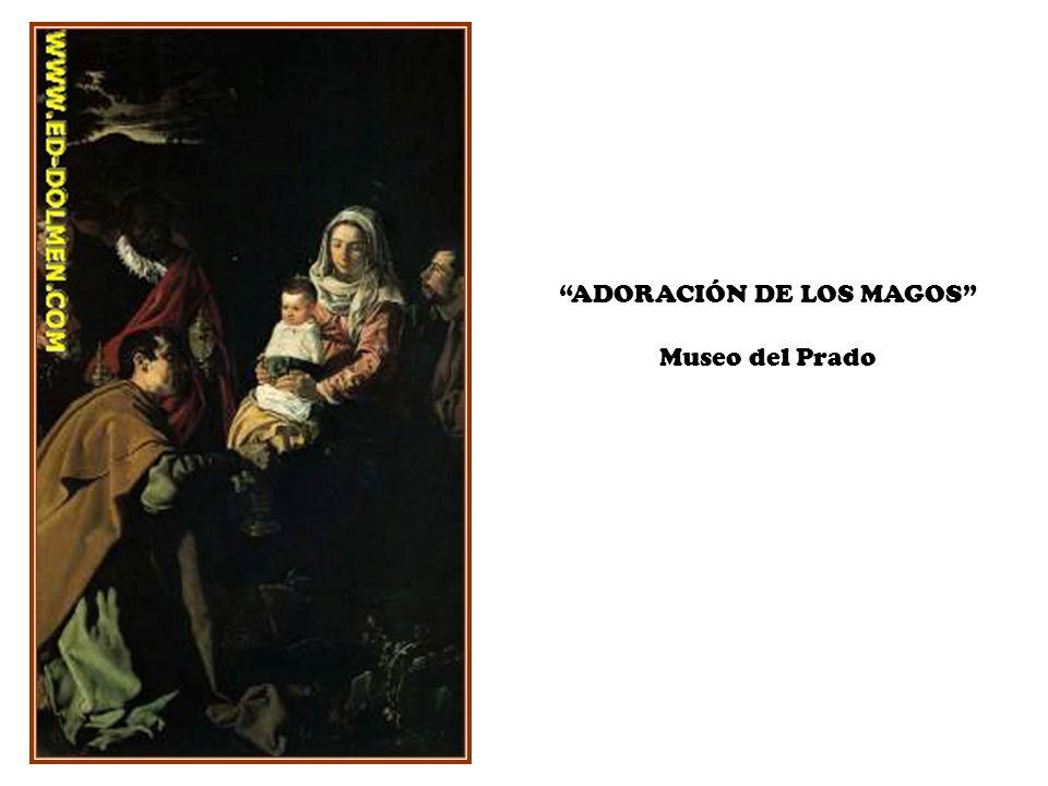 ADORACIÓN DE LOS MAGOS Museo del Prado