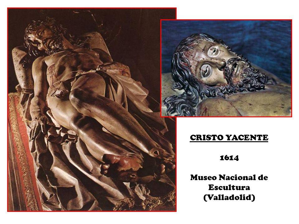 CRISTO YACENTE 1614 Museo Nacional de Escultura (Valladolid)