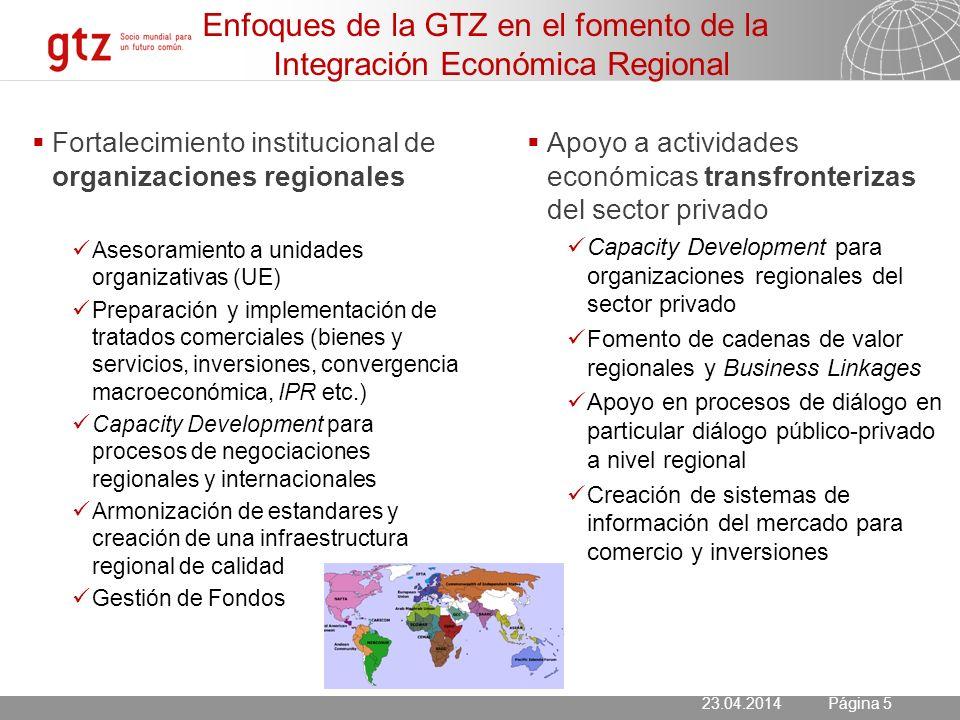 23.04.2014 Seite 6 Página 6 Remesas Migración Maquilas Productos con menor valor agregado El modelo económico de Centro América – Sostenible ??.
