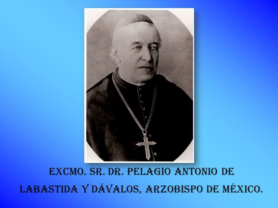 excmo. Sr. Dr. Pelagio Antonio de Labastida y Dávalos, Arzobispo de México.
