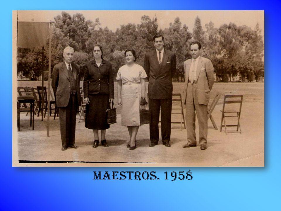 Maestros. 1958