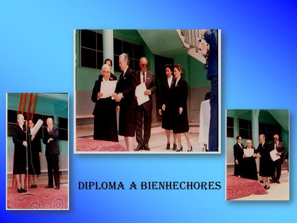 DIPLOMA A BIENHECHORES