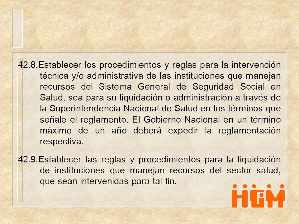 Artículo 60.Financiación de las direcciones territoriales de salud.