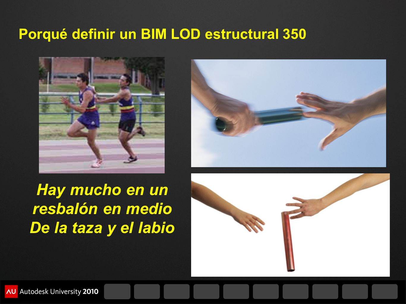 Porqué definir un BIM LOD estructural 350 Hay mucho en un resbalón en medio De la taza y el labio