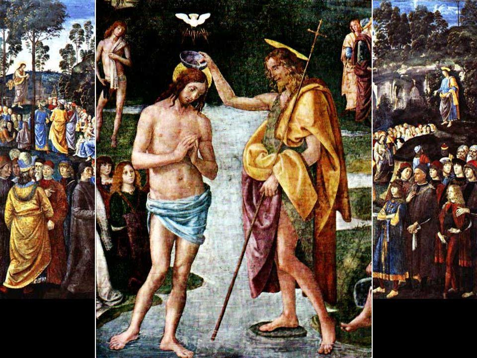 El Bautismo de Cristo Pinturicchio, 1454 - 1513