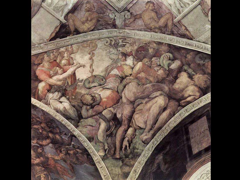 En cada rincón de la capilla es un pechinas triangulares que llena el espacio entre las paredes y el arco de la bóveda y que forman el tímpano sobre l