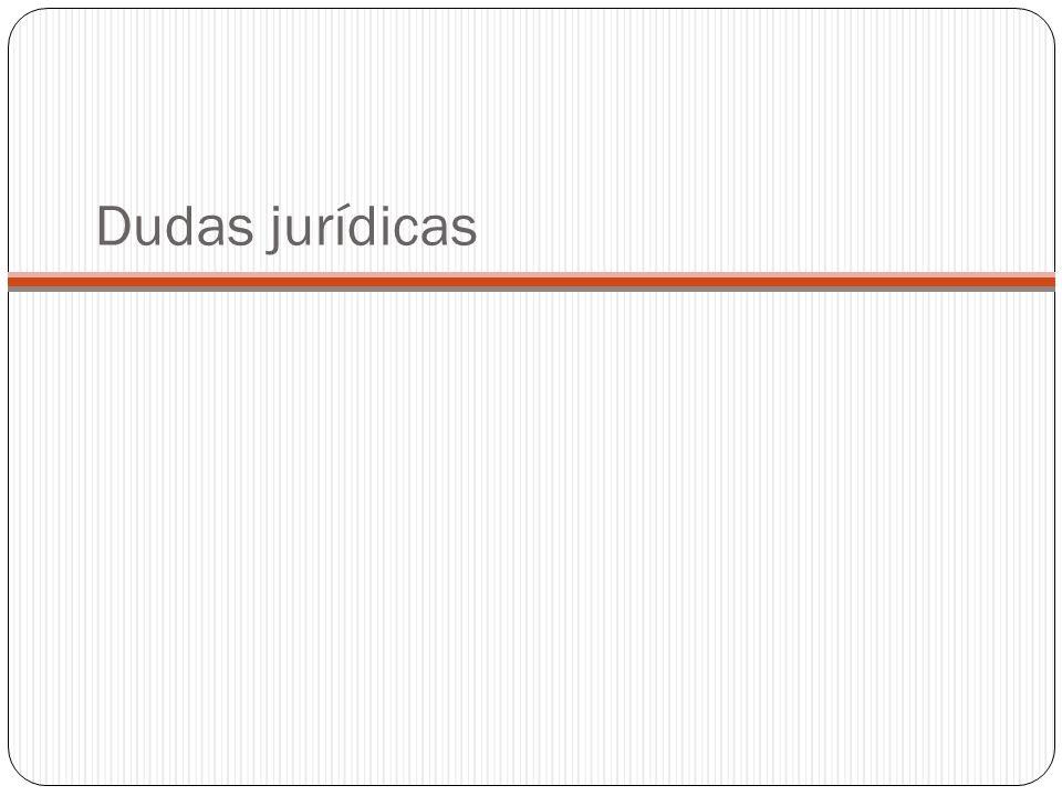 Dudas jurídicas