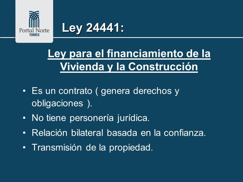 Es un contrato ( genera derechos y obligaciones ). No tiene personería jurídica. Relación bilateral basada en la confianza. Transmisión de la propieda