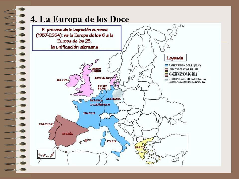 4. La Europa de los Doce