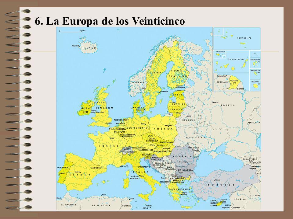 6. La Europa de los Veinticinco