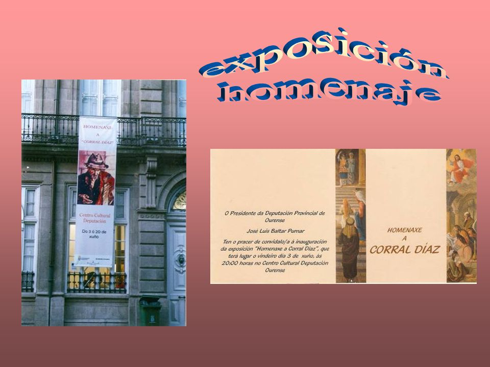 (El libro recoge este saludo de José Luís Baltar, Presidente de la Diputación de Ourense): Este libro es el obligado reconocimiento a una gran persona