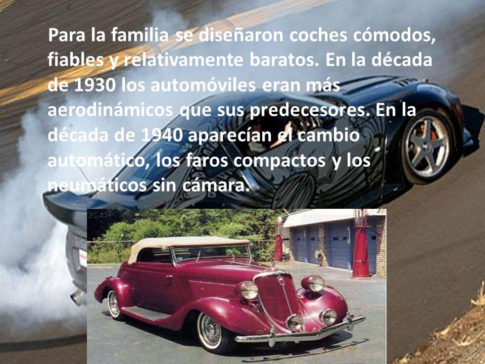 Los automóviles de la década de 1920 presentaban innovaciones como llantas hinchables, ruedas o rines de acero prensado y frenos en los cuatro neumáticos.