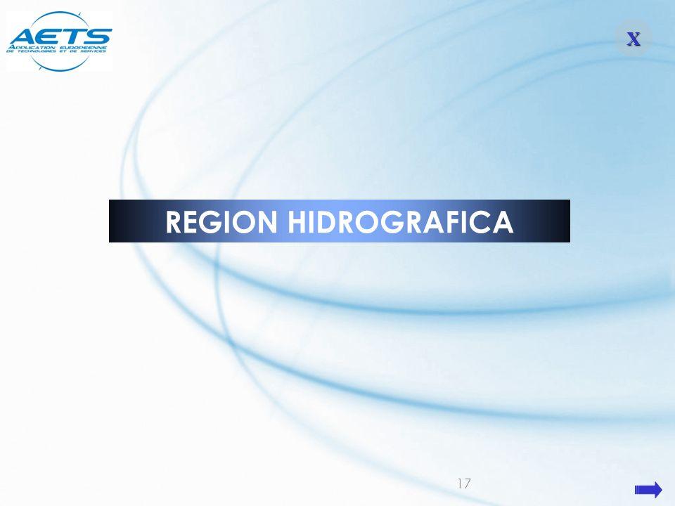 17 REGION HIDROGRAFICA XXXX