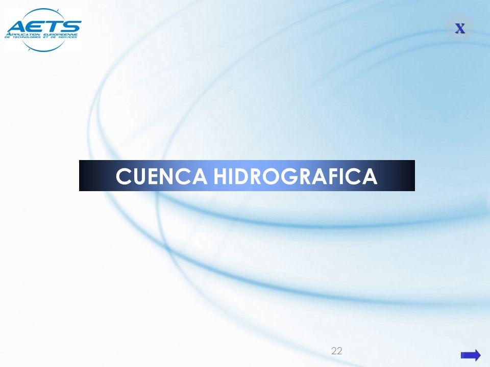 22 XXXX CUENCA HIDROGRAFICA