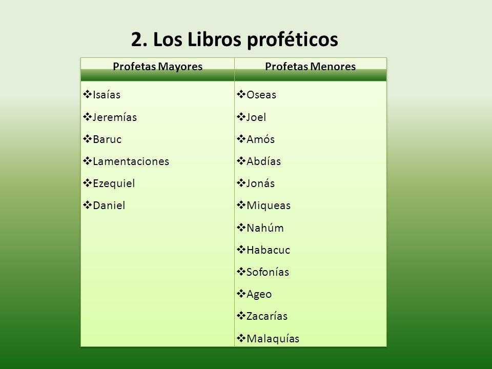2. Los Libros proféticos