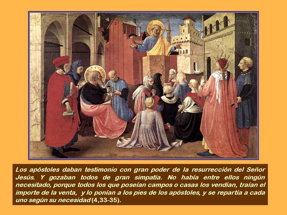 Pedro, al ver esto, se dirigió al pueblo, diciendo...Estaban hablando al pueblo, cuando se les presentaron los sacerdotes, el jefe de la guardia del T