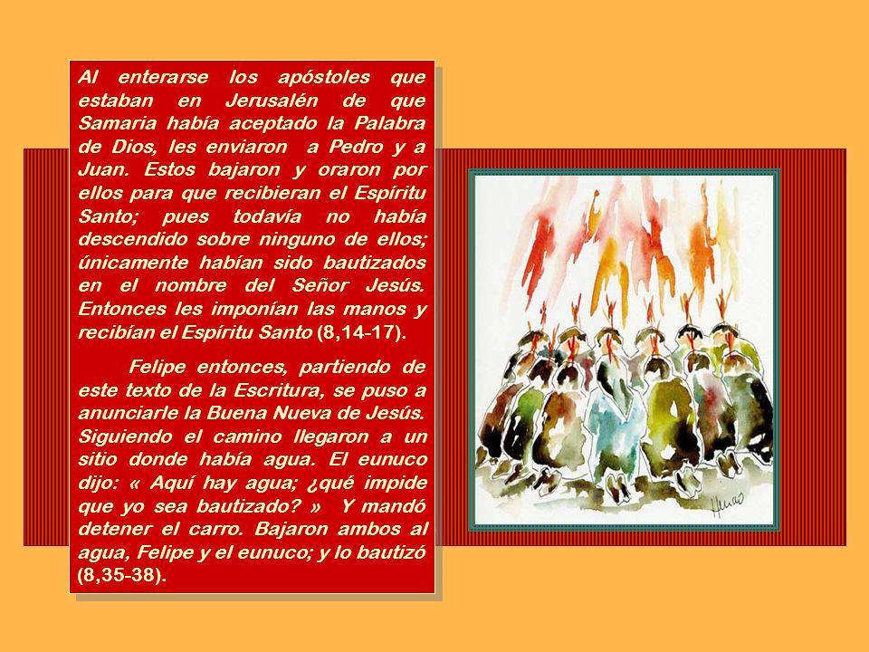 Los apóstoles daban testimonio con gran poder de la resurrección del Señor Jesús. Y gozaban todos de gran simpatía. No había entre ellos ningún necesi