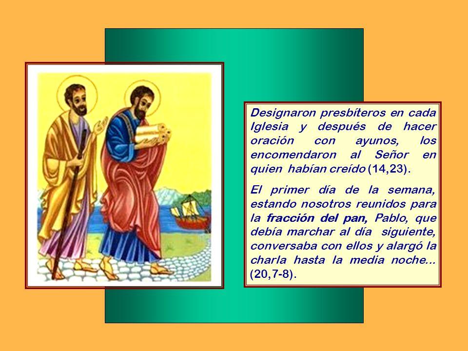 Al enterarse los apóstoles que estaban en Jerusalén de que Samaria había aceptado la Palabra de Dios, les enviaron a Pedro y a Juan. Estos bajaron y o