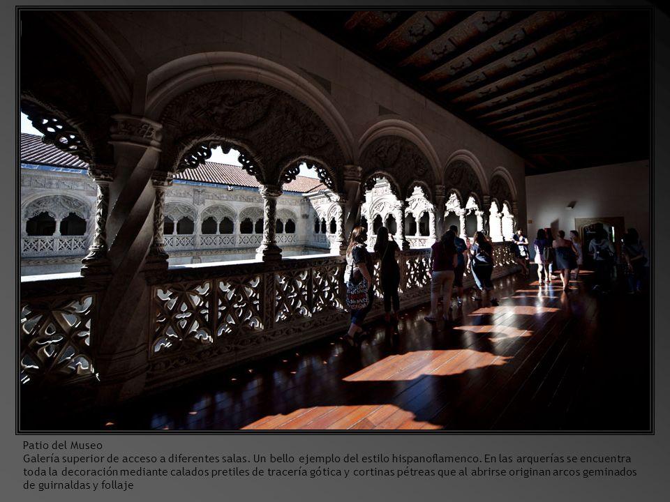 Sala 3.En primer término San Sebastián, obra de Berruguete.