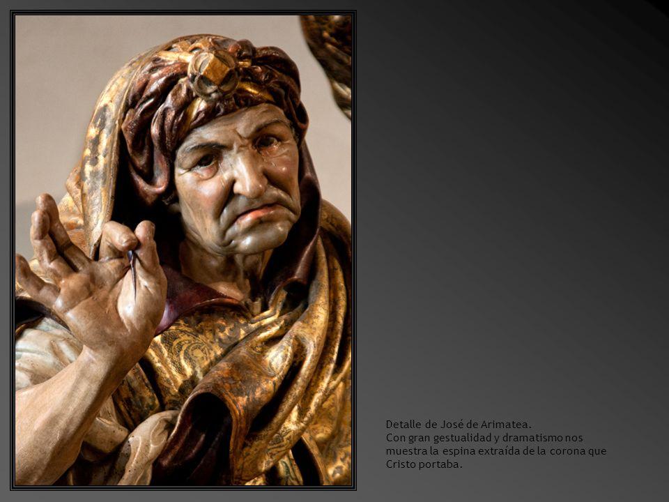 Sala 8.Santo Entierro Obra de Juan de Juni, h 1540 Madera policromada.