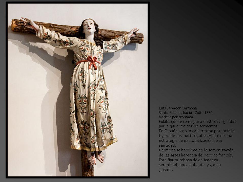 Paso de Procesión.Cristo camino del Calvario. Hacia 1610.