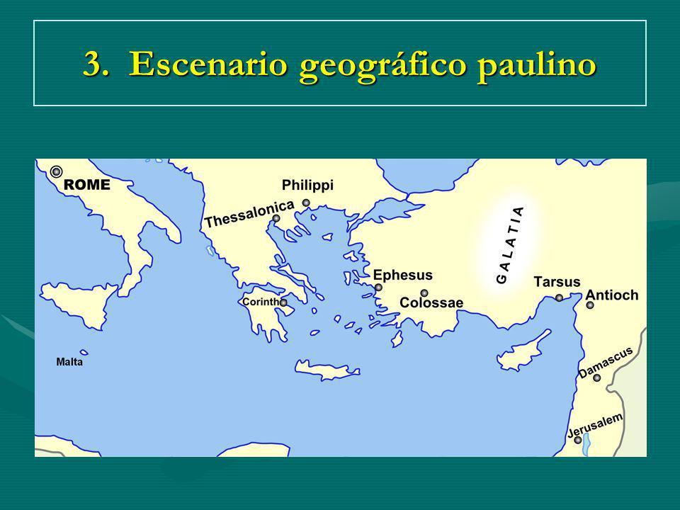 3. Escenario geográfico paulino