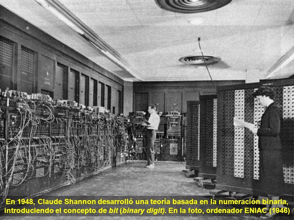 Utilizado con fines bélicos, el primer ordenador automático constaba de 750.000 piezas, unidas por cerca de 80 km de cables